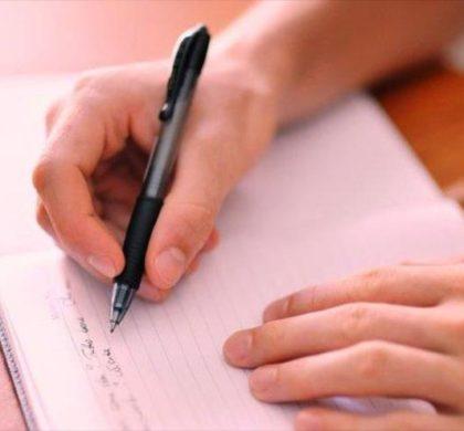 La escritura expresiva favorece las emociones y la salud física